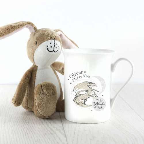 Personalised Guess How Much I Love You To The Moon And Back Bone China Mug